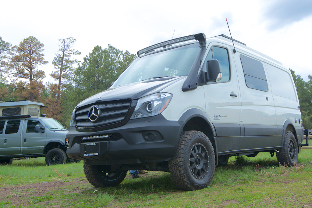 The New Sportsmobile 4x4 Sprinter Is Selling Like Hot Cakes They Are About A Year